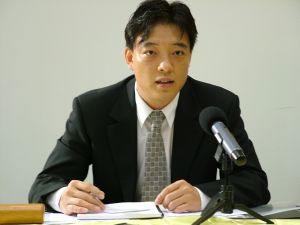 Хао Фэнцзюнь, политический беженец, бывший руководитель полицейского подразделения и чиновник Офиса 610. Фото: Epoch Times