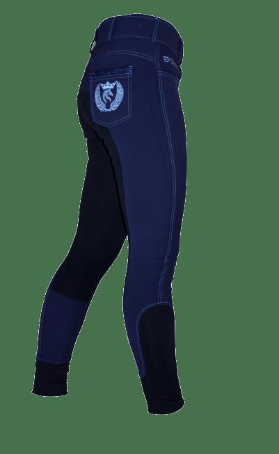 Blue fullseat breeches