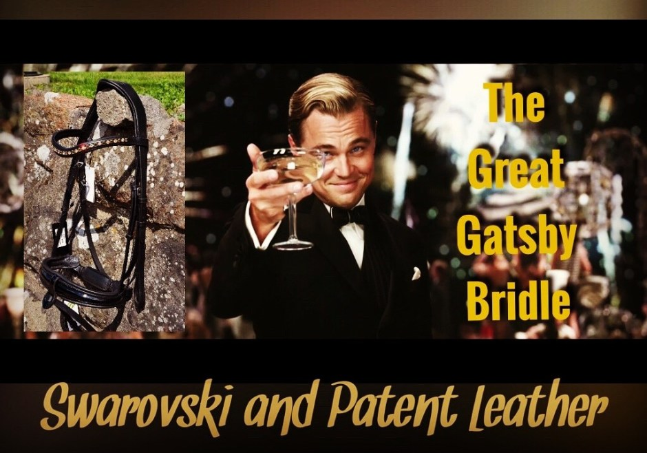 The Great Gatsby Dressage Bridle
