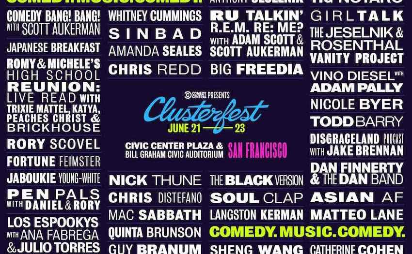 Clusterfest 2019 Lineup