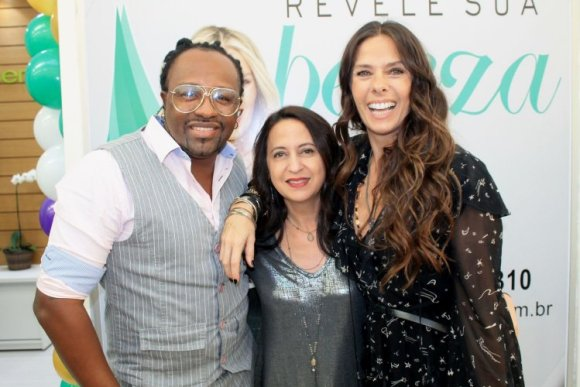 Claudinho do Negritude Jr, Dra.Silvia Takakuwa e Adriane Galisteu