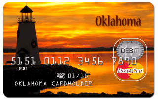 Oklahoma unemployment card