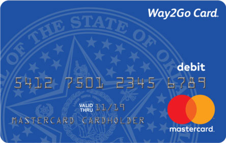 Oklahoma Way2Go Child Support Card