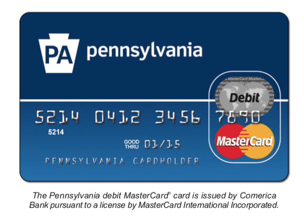 Pennsylvania EPPICard for Unemployment