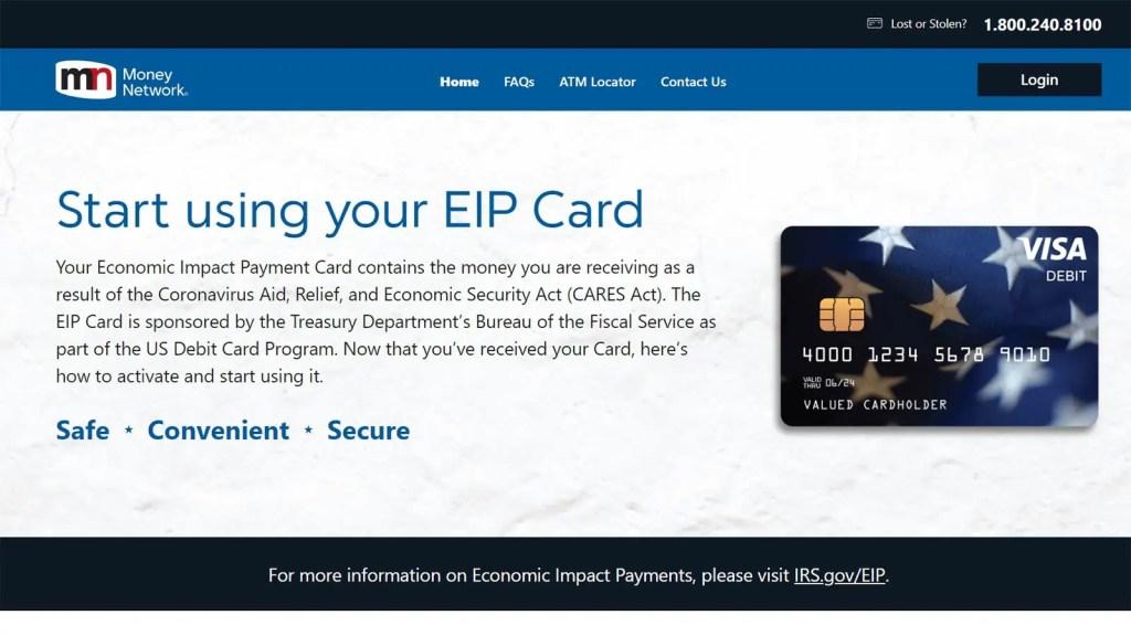 EIP Card Website by MetaBank