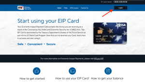 How to Login EIP Debit Card Online Account