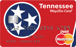 Tennessee Way2Go Card for Unemployment benefits