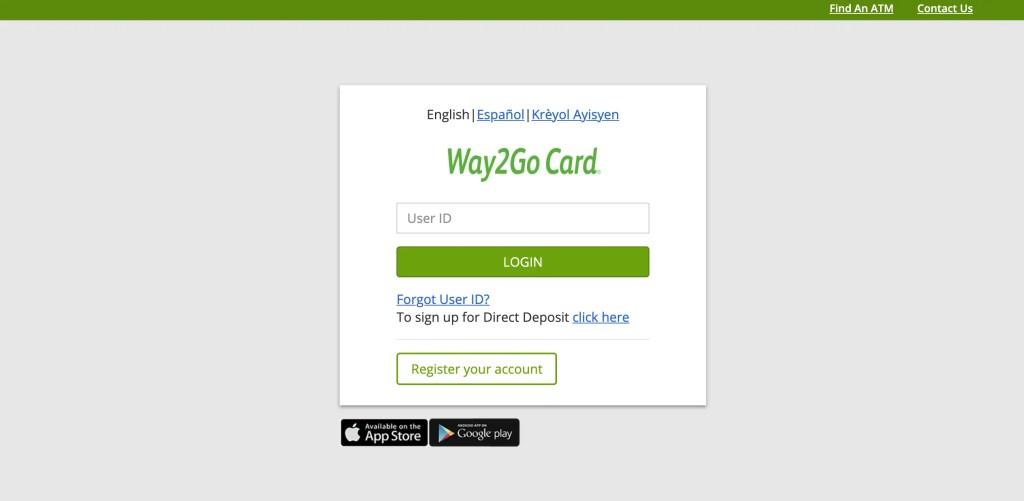 Way2Go Card Florida Website