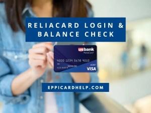 ReliaCard Login and Balance Check