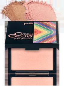 go for glow blush mit Swatches
