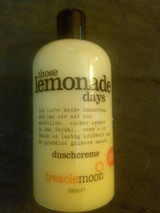 treaclemoon those lemonade days
