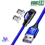 EKING 2in1 Magnetic Charging Cable for Type C Android Mobile