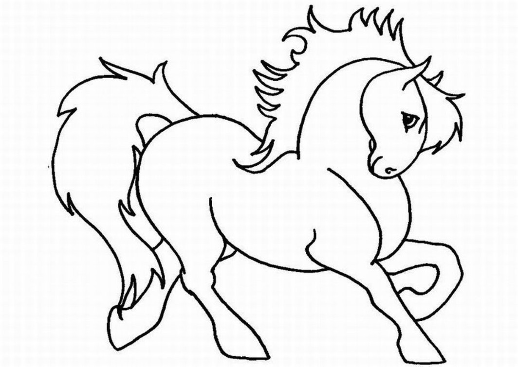Horse Coloring Pages For Girls Free Printable Coloring Pages For