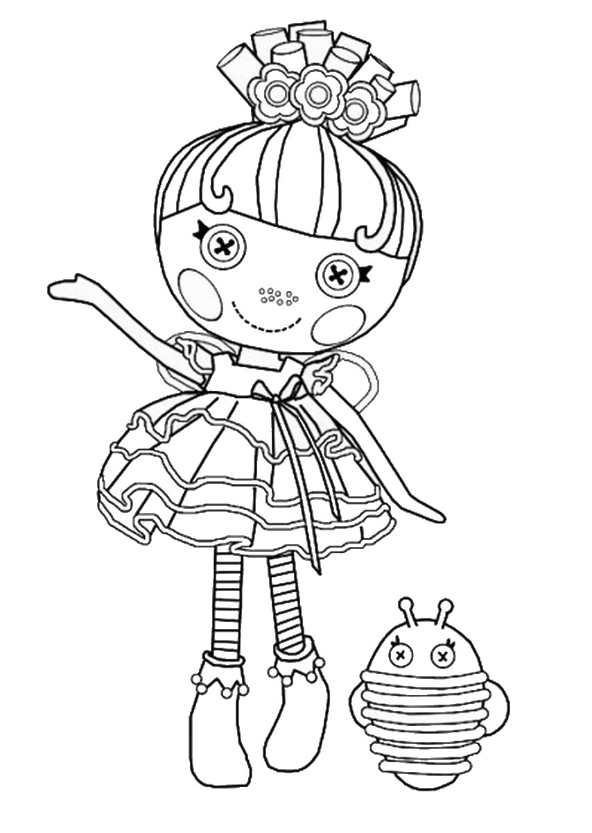 Lalaloopsy Coloring Pages Colouring Pages 25 Free Printable
