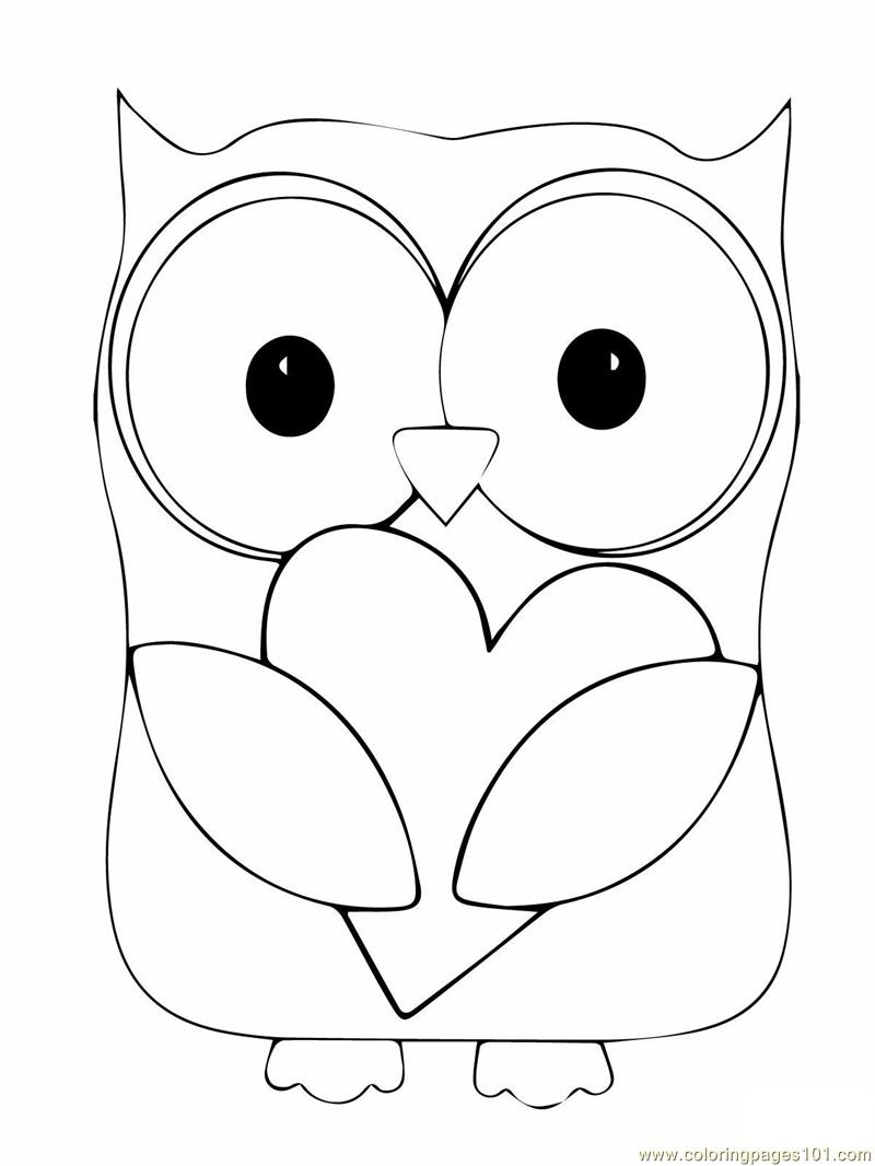 Owl Coloring Pages Coloring Page 22 Free Printable Coloring