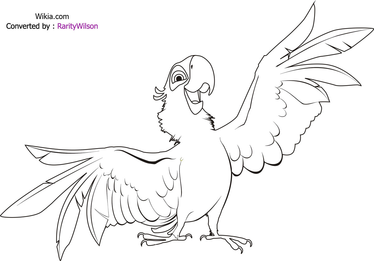 Bird Angry Birds Coloring Pages Free Printable Coloring