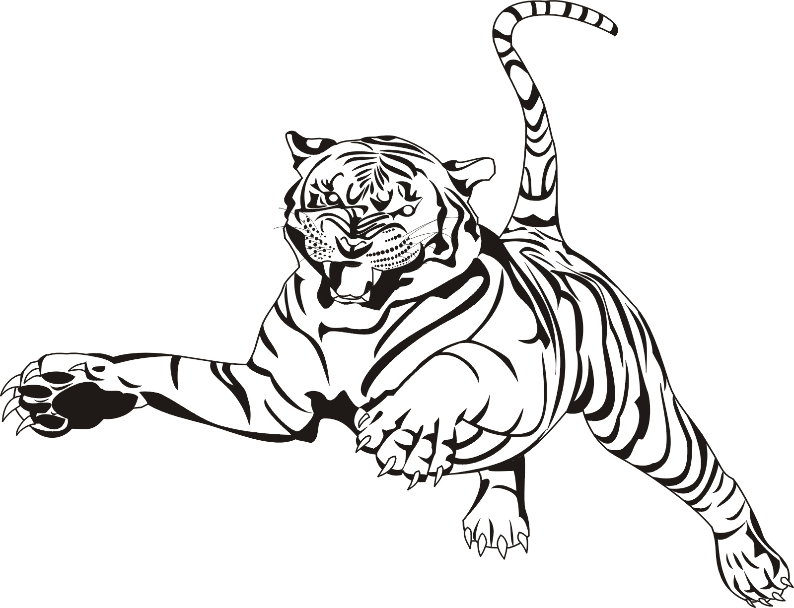 Tiger Coloring Pages Animal Coloring Pages 33 Free Printable