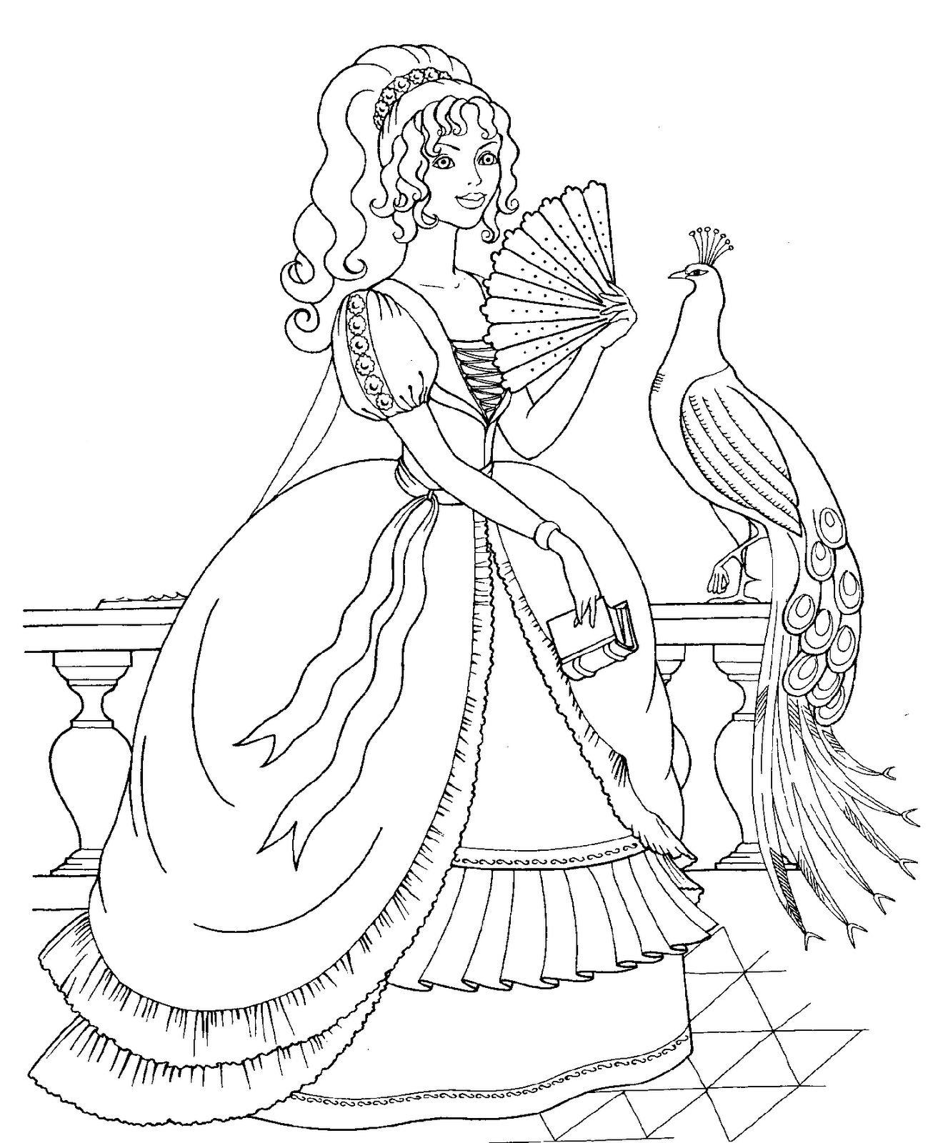Disney Princess Coloring Pages 30 Free Printable Coloring Pages