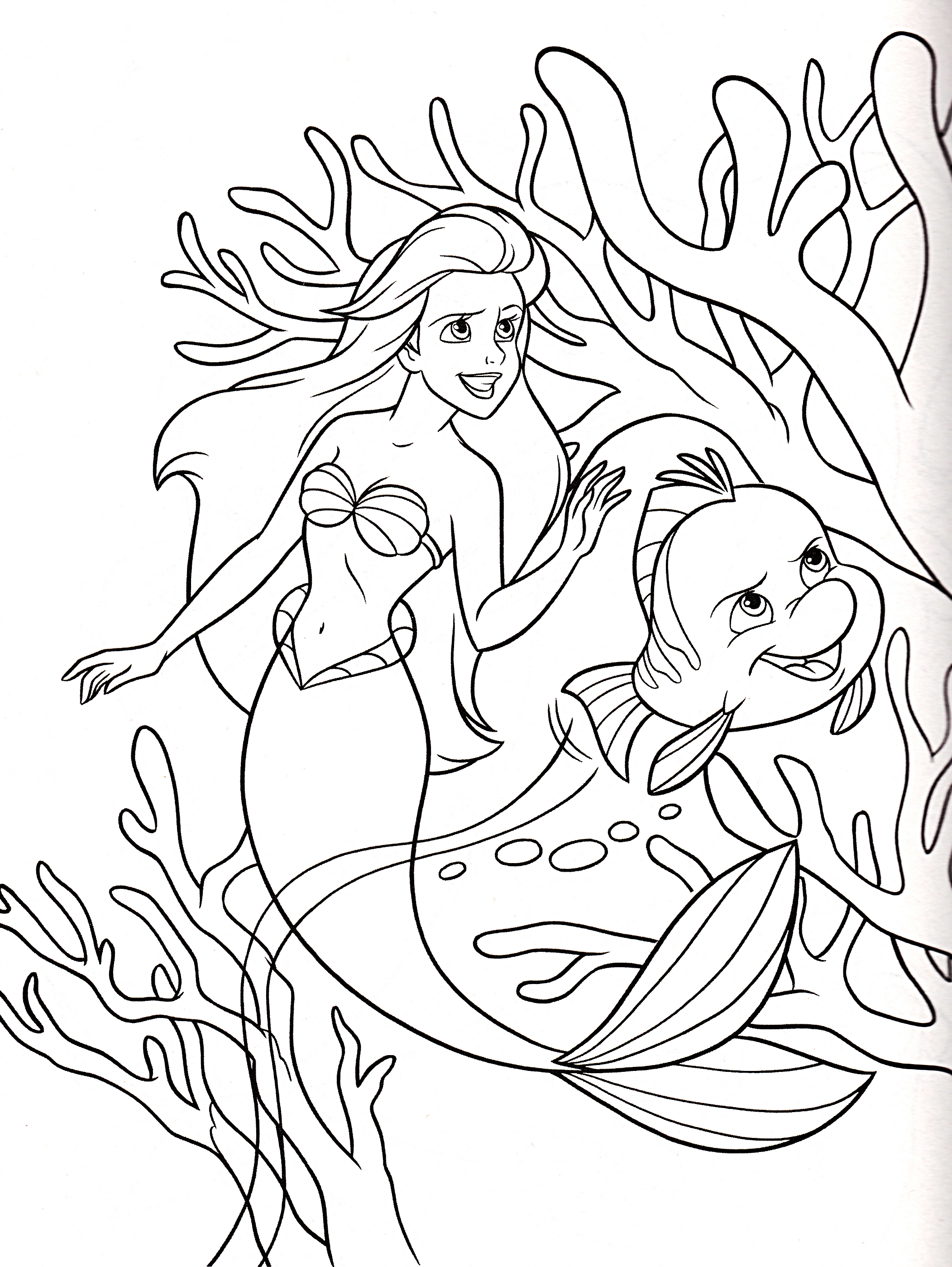 Disney Princess Coloring Pages 72 Free Printable Coloring Pages