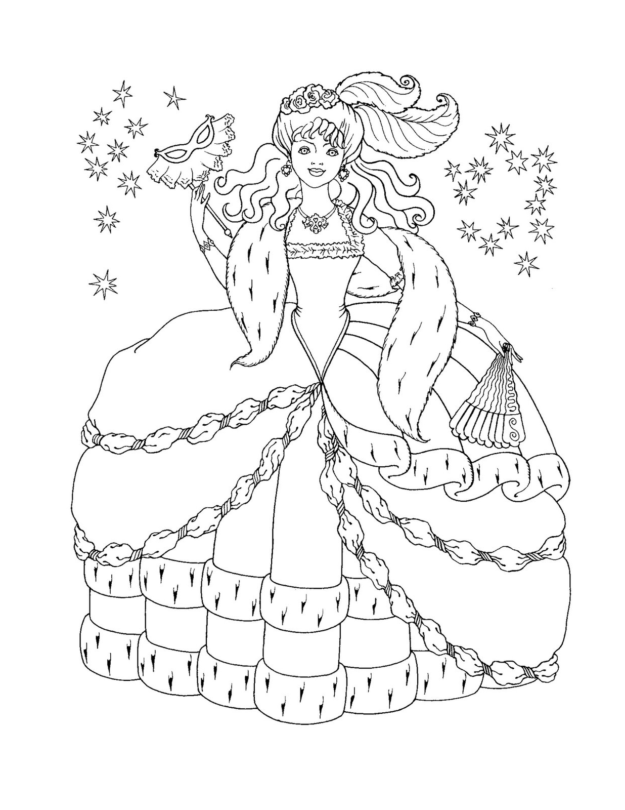 Disney Princess Coloring Pages 81 Free Printable Coloring Pages