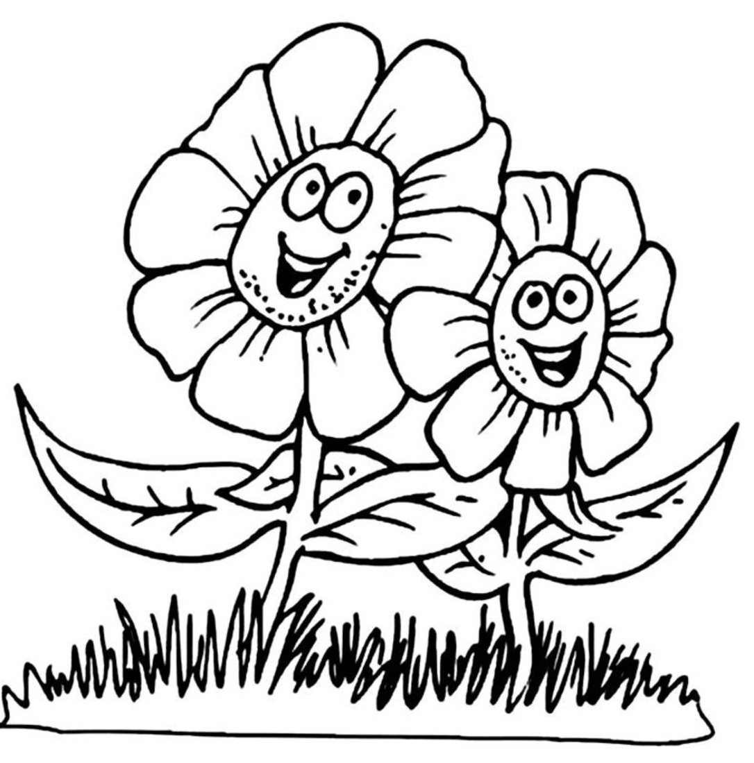 Spring Pictures Coloring Pages Spring Colouring Pages 11 Free