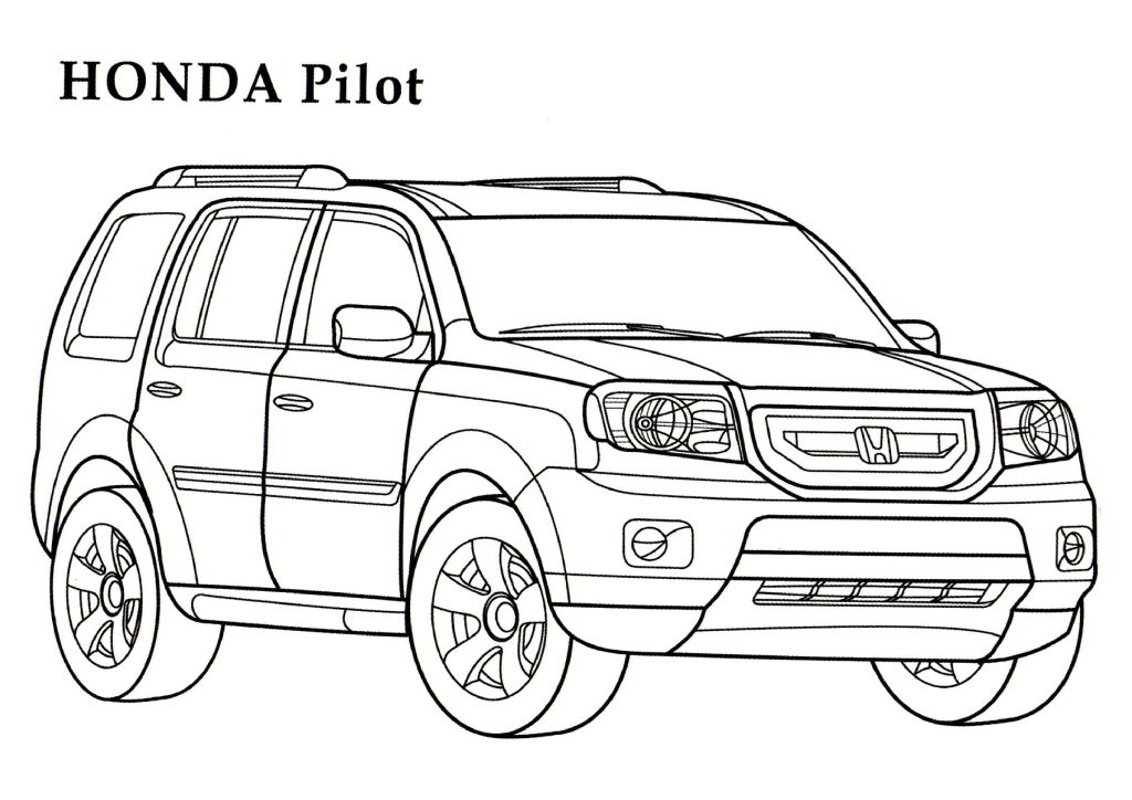Subaru Cool Cars Coloring Pages