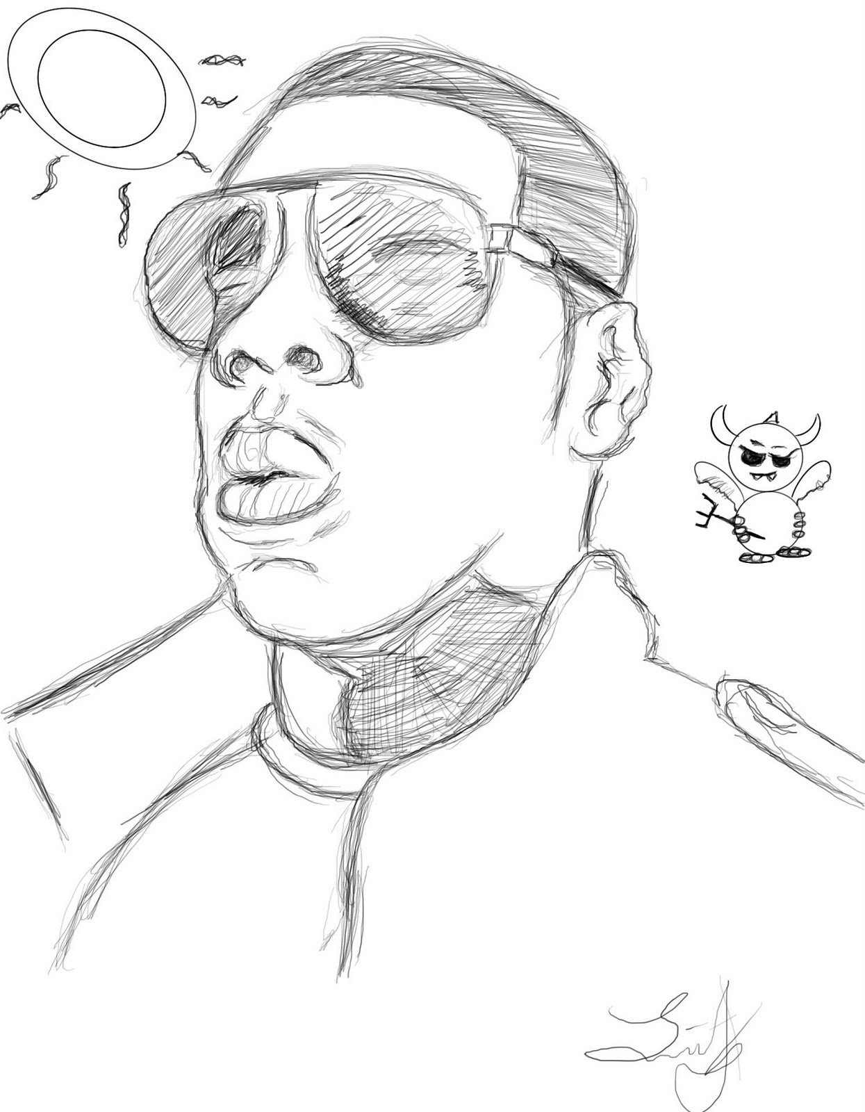 Jay Z Image Coloring Pages For Kids
