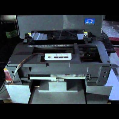 cbb5f784 DTG printing with A3 flatbed printer - Transformer Big bee ...