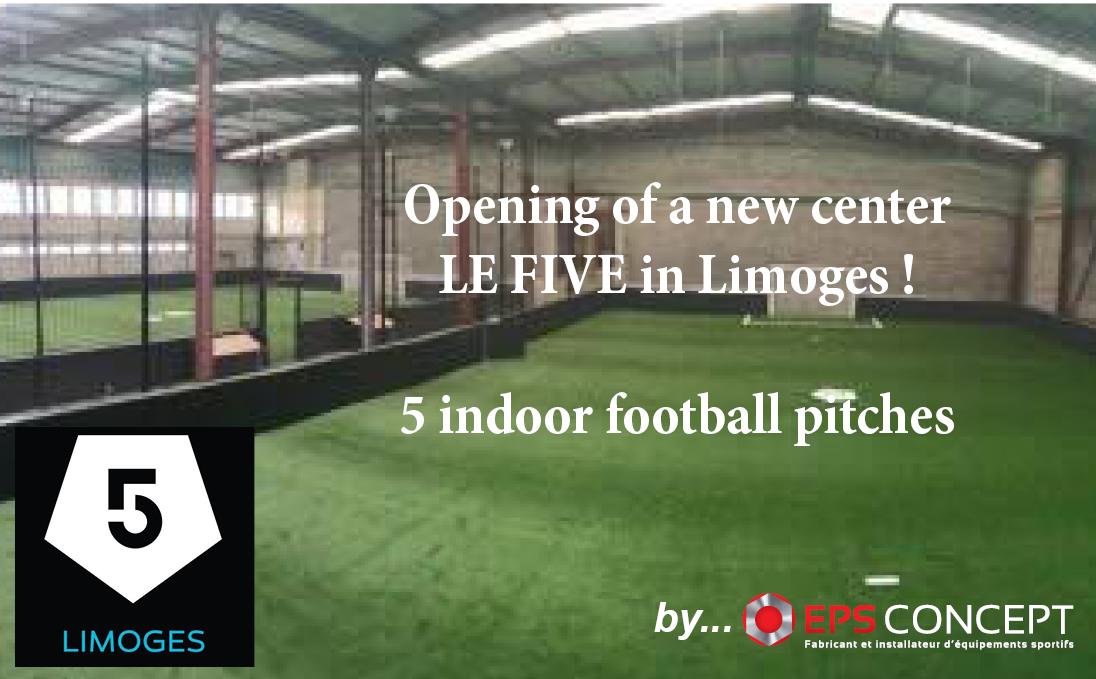 5 Indoor Soccer Pitches In Five Limoges France Eps Concept