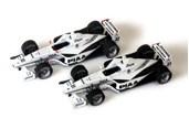 Papercraft recortables de Coches Nakajima racing 2005. Manualidades a Raudales.