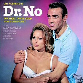 Dr. No Original Sound Track Album Cover