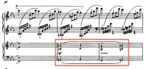 3rd movement, passage-work