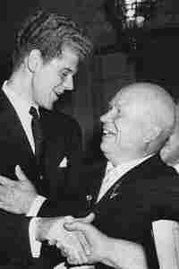 Van Cliburn and Krushchev