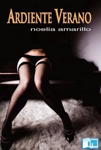 Ardiente verano - Noelia Amarillo portada