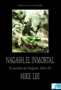 Nagash, el inmortal - Mike Lee portada