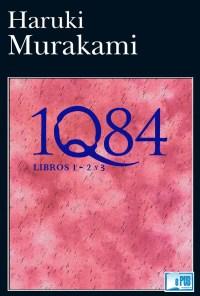 1Q84 libros 1 - 2 y 3 - Haruki Murakami portada