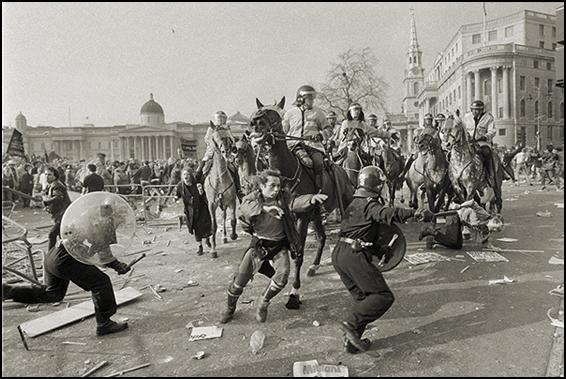 Poll Tax riots 1990