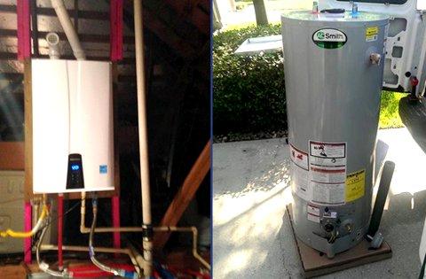 Water Heaters Navien Tankless Water Heaters AO Smith Water Heaters