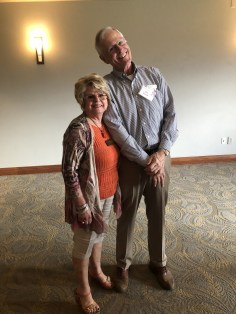 Mayor Bob Russell and EPWC Pres., Sharyn Close share a big smile