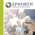 2015 Epworth Financial Audit Report cover page with photo of kids