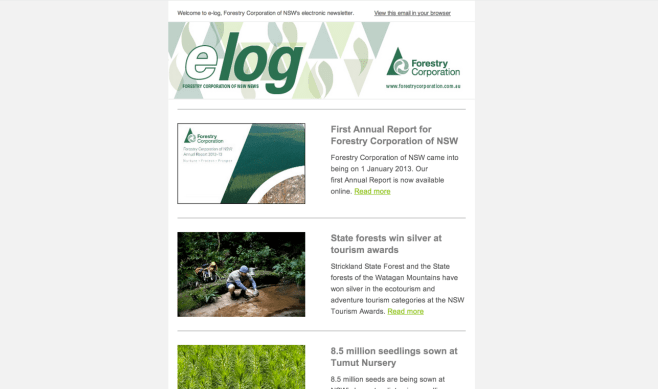 First_Annual_Report__silver_tourism_awards_and_8.5_million_seedlings_-_Forestry_Corporation_of_NSW_newsletter