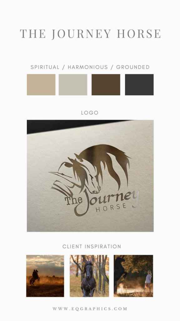 Make Your Clients Feel Your Brand Purpose With a Custom Logo for Your Equine Business