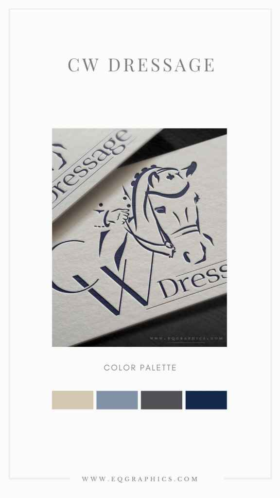 Dressage Trainer's Logo Wows With Gentle Hand on Reins