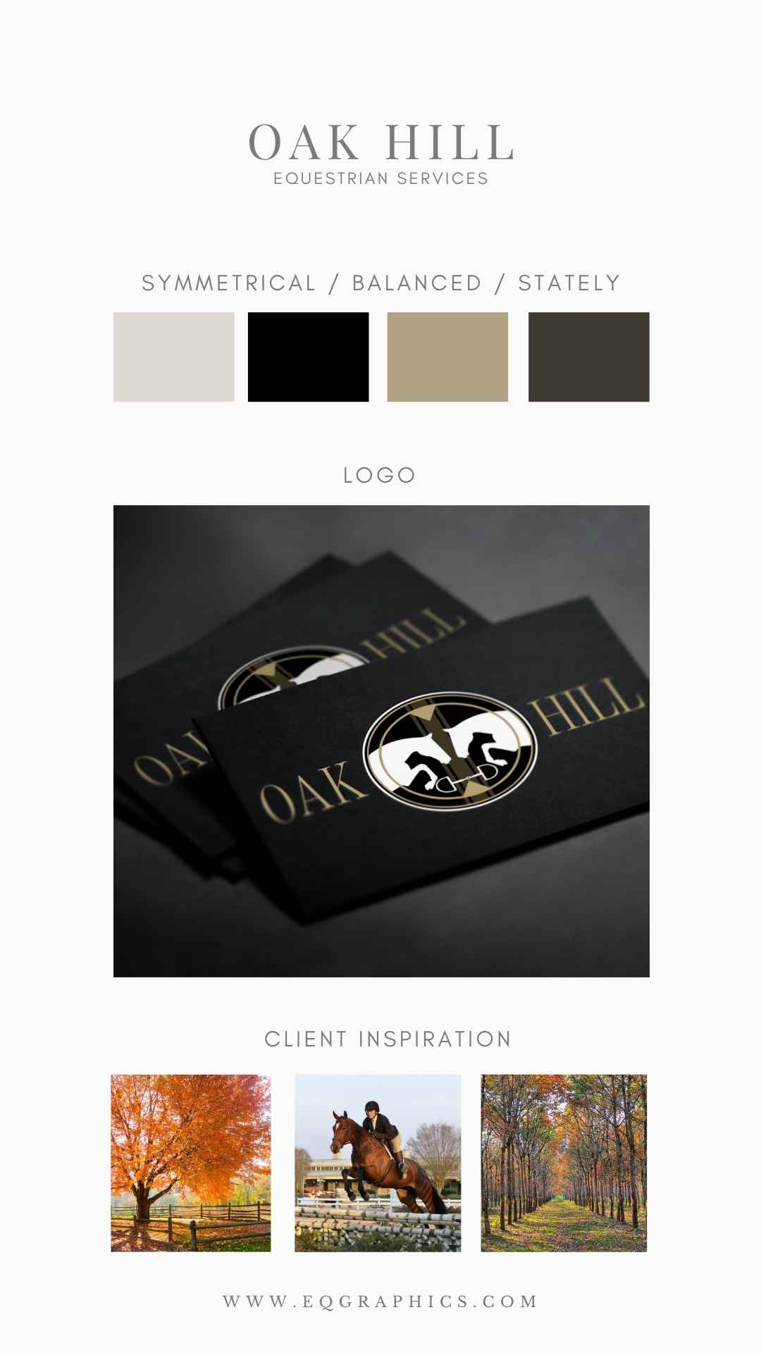 Striking Hunter/Jumper Logo Design Inspired by Traditional Foxhunting Imagery