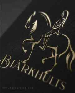 Feel the Energy Behind This Liberty Horse Trainer's Stunning Dressage Horse Logo