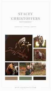 Hand Drawn Logo Depicts Bond Between Cowgirl and Horse