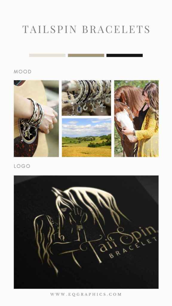 Horse & Girl Frozen in Touching Scene on Equestrian Jewelry Company's Packaging