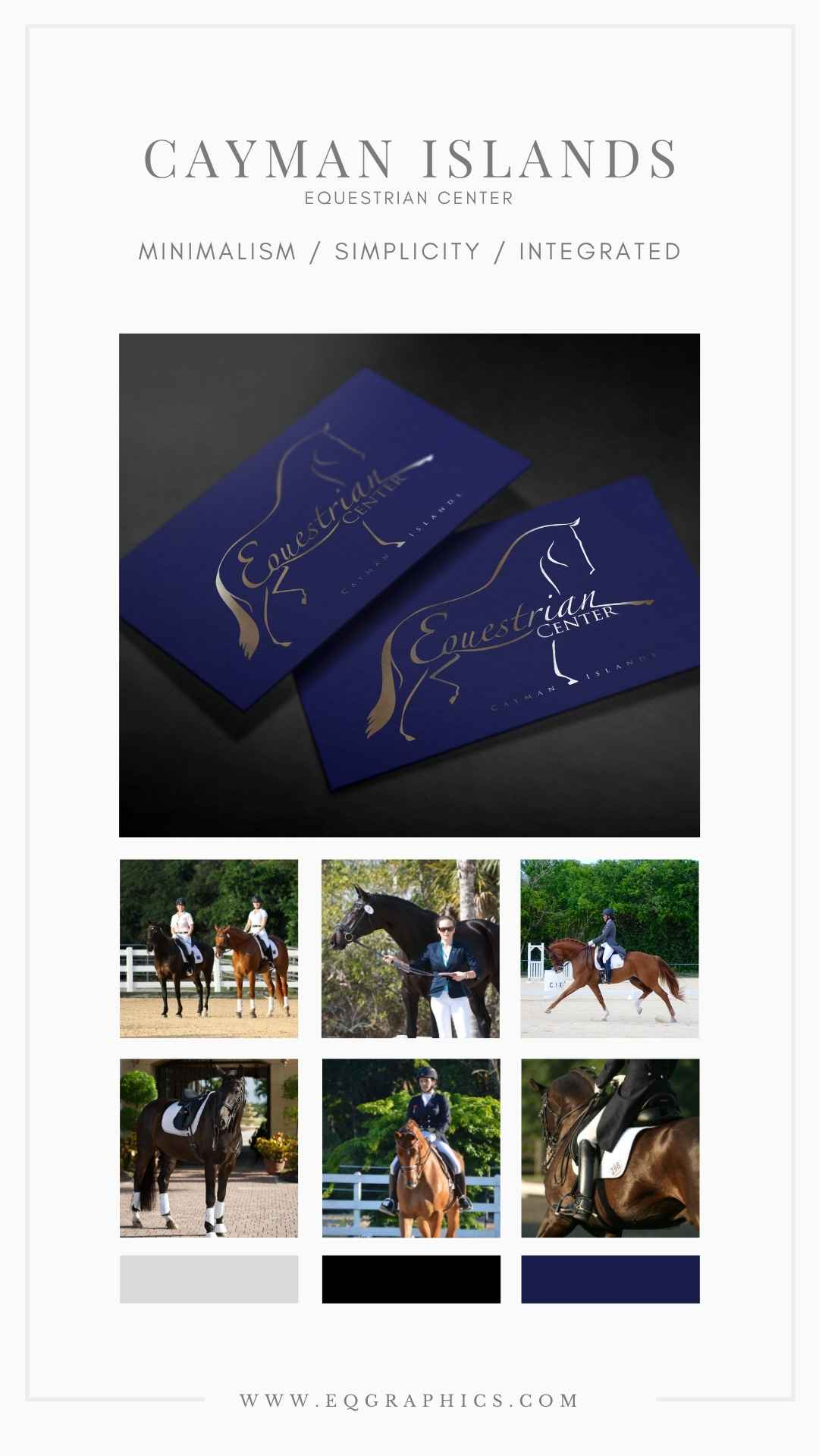 Custom Calligraphy Adds Luxury Aesthetic to Hand Drawn Extended Trot Logo Design