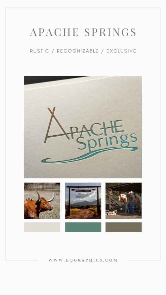 Rustic Logo Design Inspired by The Land & History Surrounding Arizona Event Center