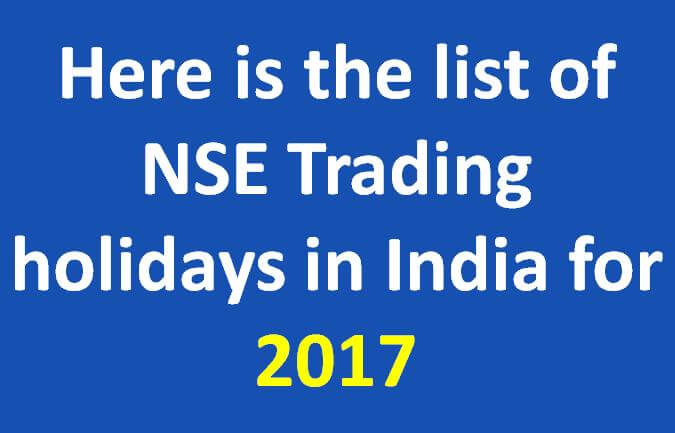 Nse india options trading